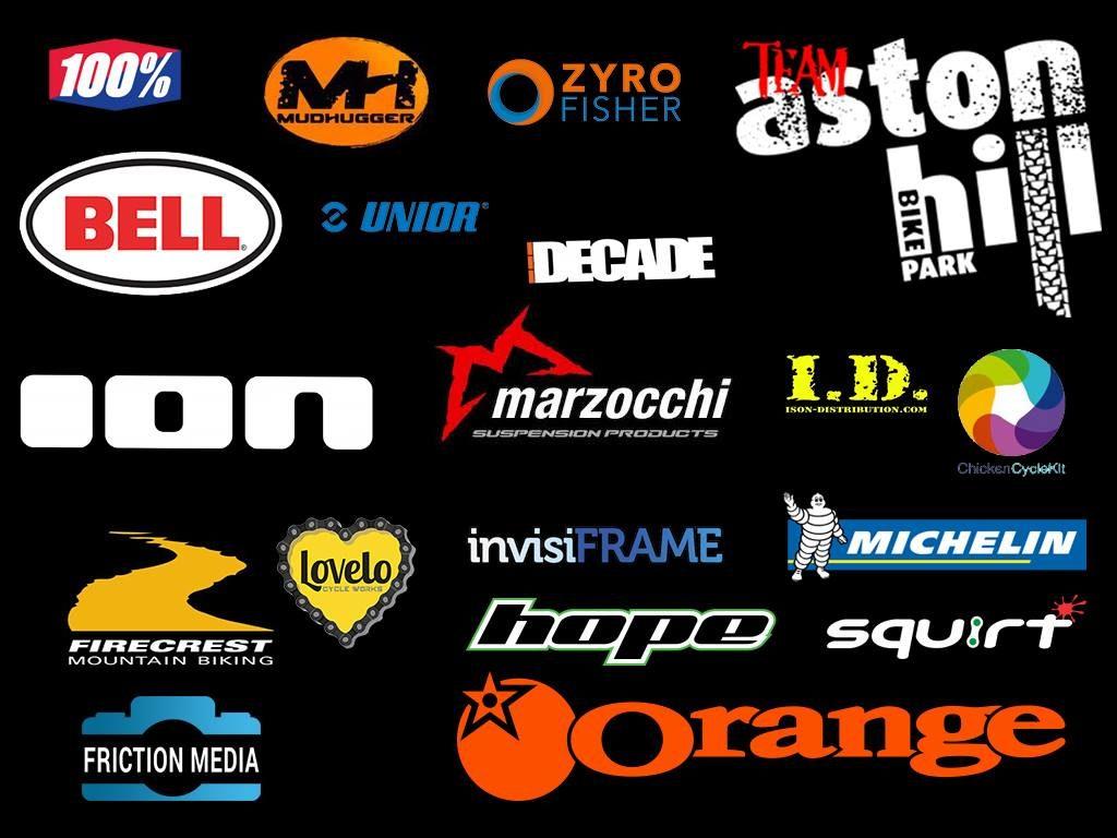 Team Aston Hill Sponsors