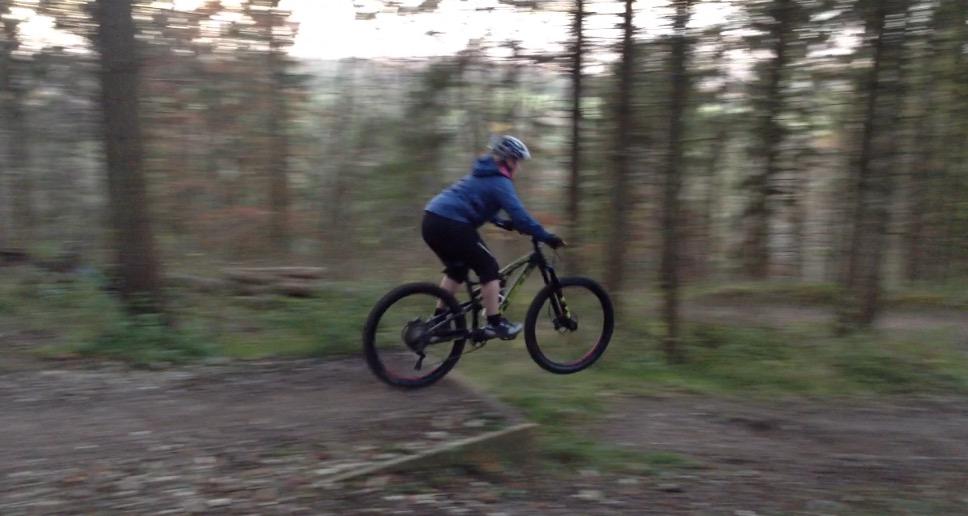 Mountain Bike Techniques Jumps