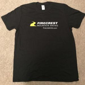 Firecrest MTB - T-Shirt - Black